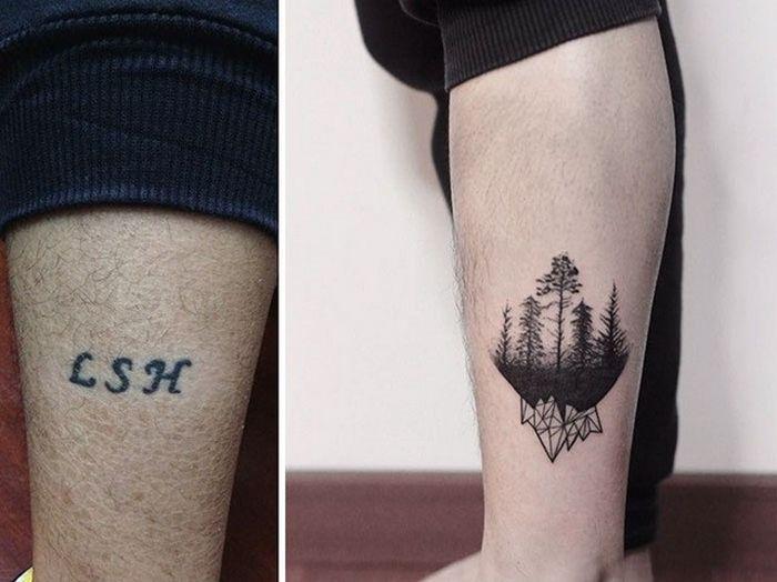 28 tatuagens que receberam retoques impressionantes 10