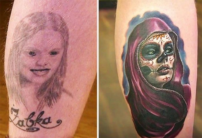 28 tatuagens que receberam retoques impressionantes 11