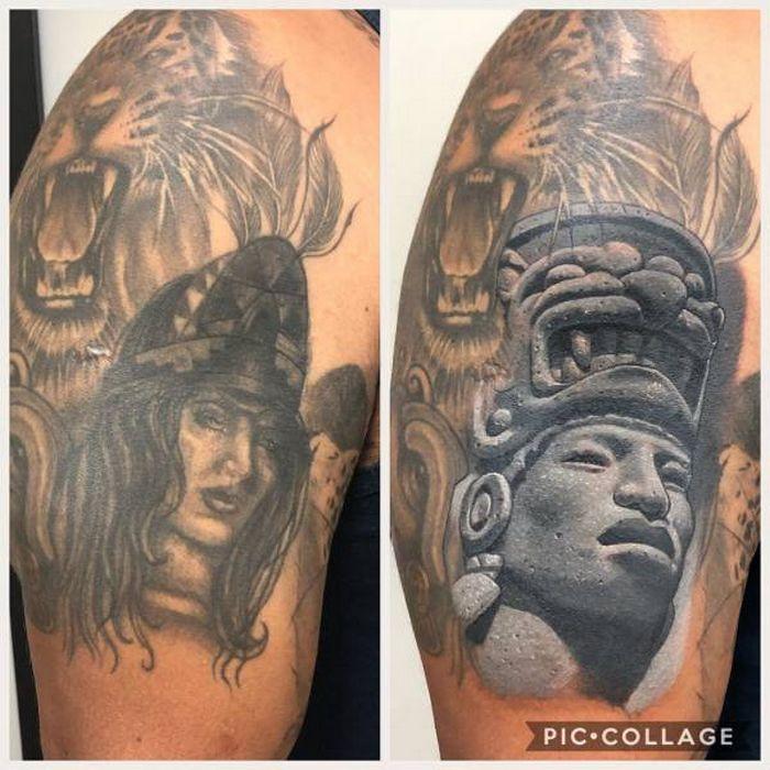 28 tatuagens que receberam retoques impressionantes 22