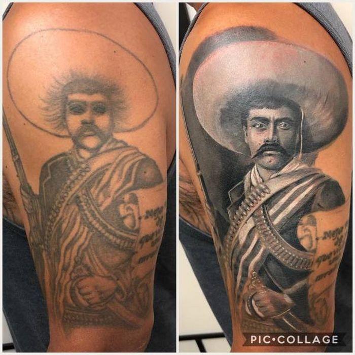 28 tatuagens que receberam retoques impressionantes 23