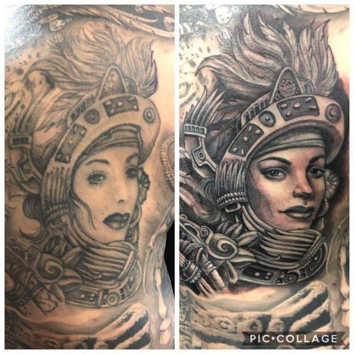 28 tatuagens que receberam retoques impressionantes 26