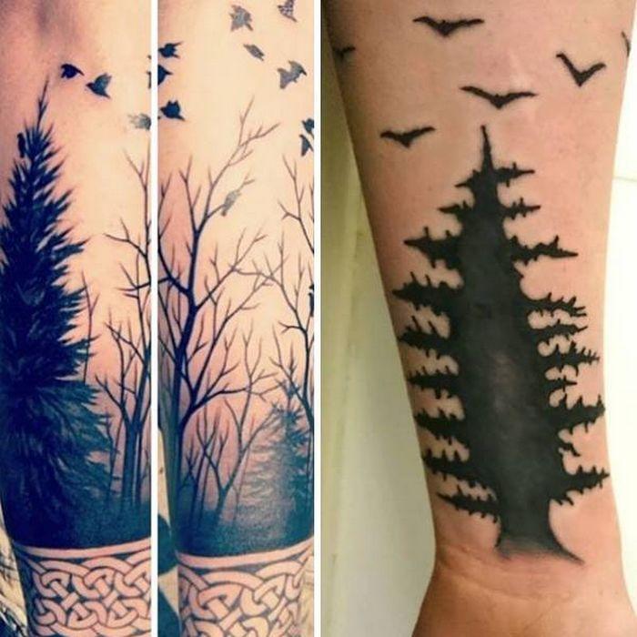 28 tatuagens que receberam retoques impressionantes 27