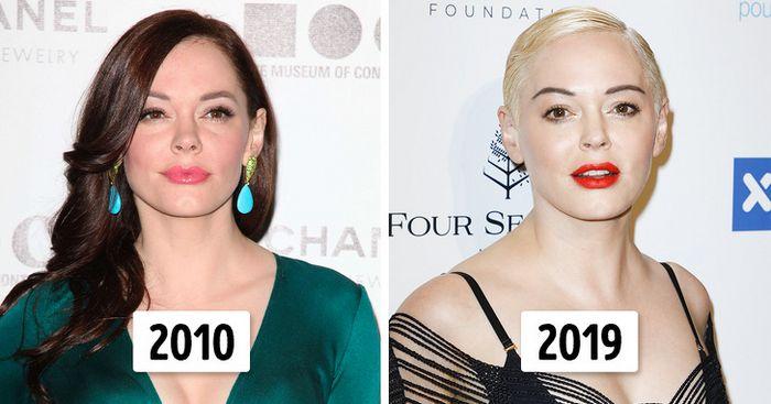 15 transformações de cabelo de celebridades para você se inspirar 3