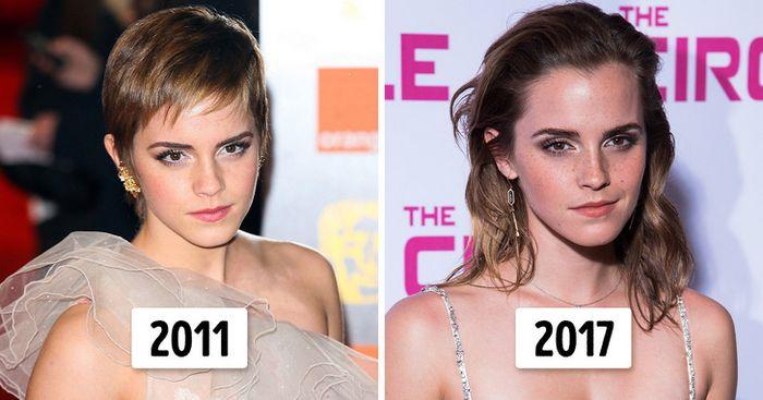 15 transformações de cabelo de celebridades para você se inspirar 4