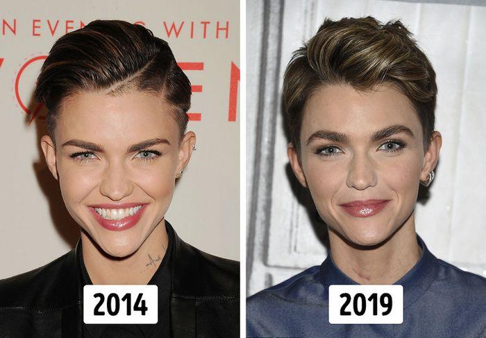 15 transformações de cabelo de celebridades para você se inspirar 5