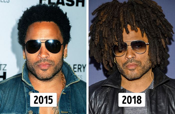 15 transformações de cabelo de celebridades para você se inspirar 10