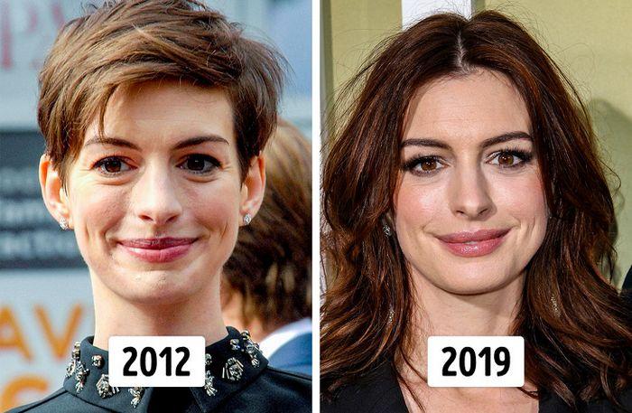 15 transformações de cabelo de celebridades para você se inspirar 11