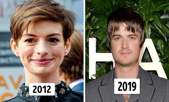 15 transformações de cabelo de celebridades para você se inspirar 22