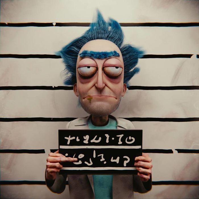 Artista reimagina personagens de desenhos e vários objetos como personagens de terror (17 fotos) 6