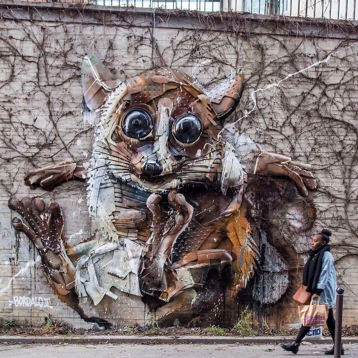 Artista transforma lixo em animais para nos lembrar sobre poluição 15