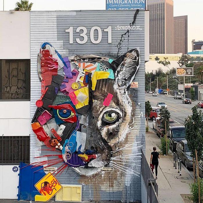 Artista transforma lixo em animais para nos lembrar sobre poluição 21