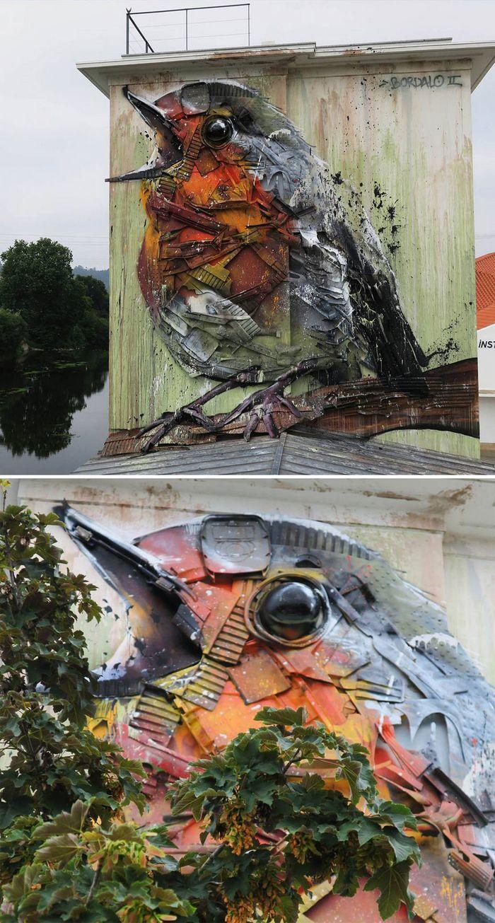 Artista transforma lixo em animais para nos lembrar sobre poluição 22