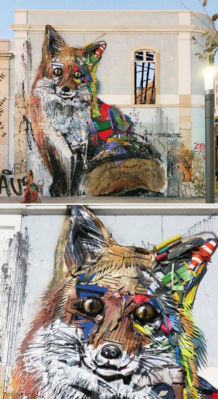 Artista transforma lixo em animais para nos lembrar sobre poluição 29