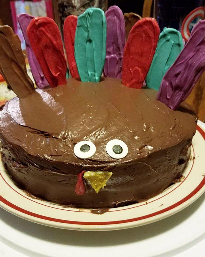 21 bolo hilariante do dia de Ação de Graças 17