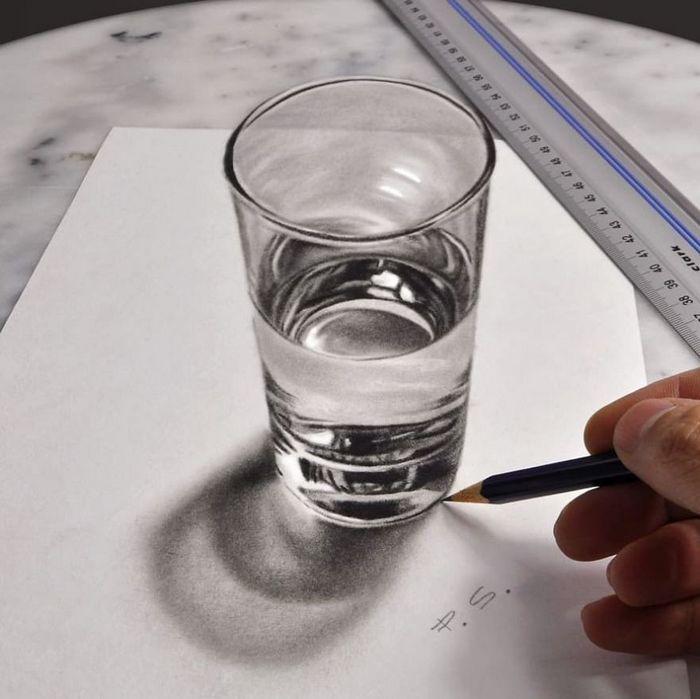 Artista alemão cria desenhos 3D incríveis em papel (30 fotos) 14