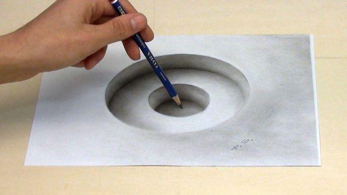 Artista alemão cria desenhos 3D incríveis em papel (30 fotos) 16