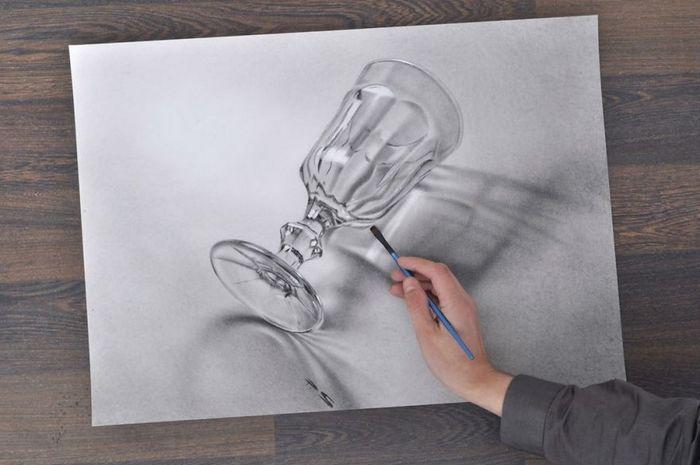 Artista alemão cria desenhos 3D incríveis em papel (30 fotos) 20
