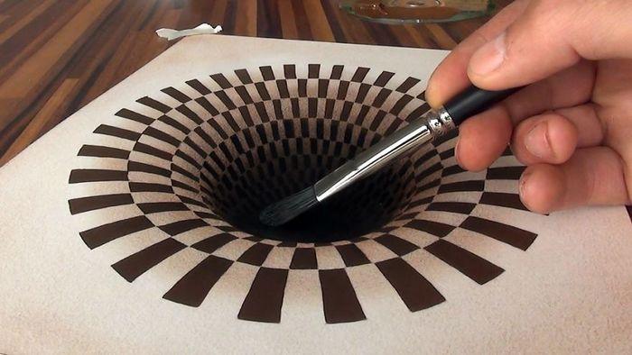 Artista alemão cria desenhos 3D incríveis em papel (30 fotos) 24