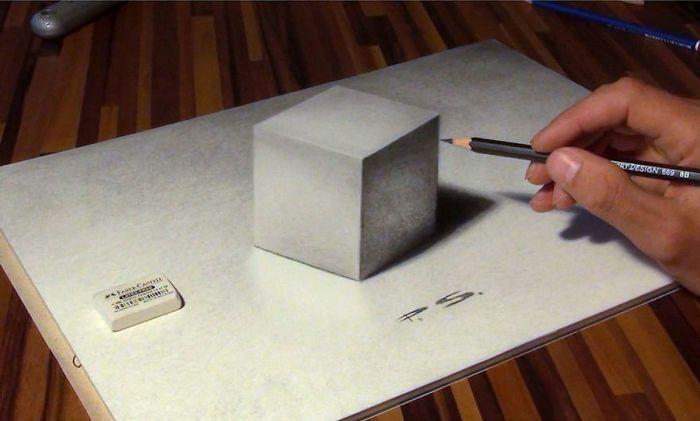 Artista alemão cria desenhos 3D incríveis em papel (30 fotos) 27