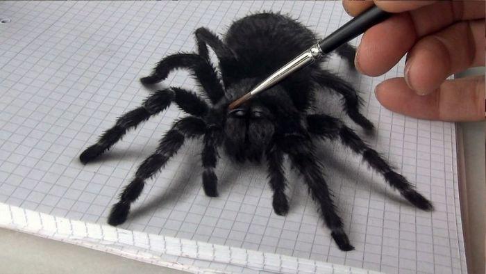 Artista alemão cria desenhos 3D incríveis em papel (30 fotos) 31