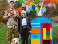Avó de 93 anos e seu neto se vestem com fantasias e as pessoas adoram (30 fotos) 29