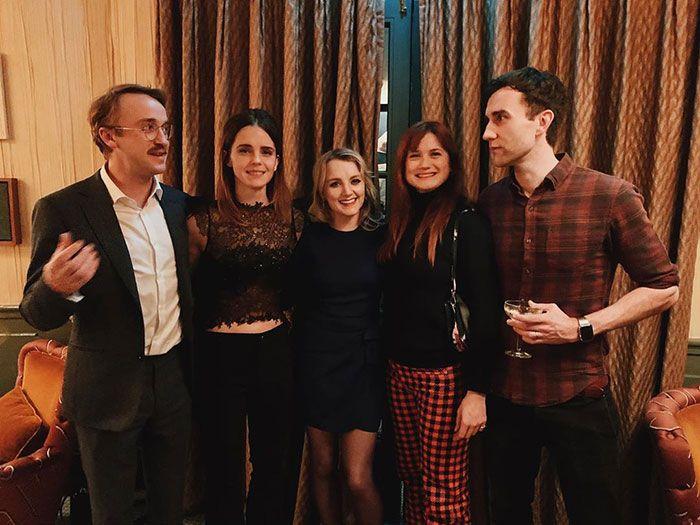 Emma Watson postou uma foto da reunião de Harry Potter, que é um presente de Natal perfeito para os fãs 3