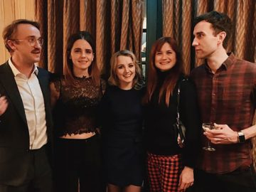 Emma Watson postou uma foto da reunião de Harry Potter, que é um presente de Natal perfeito para os fãs 5