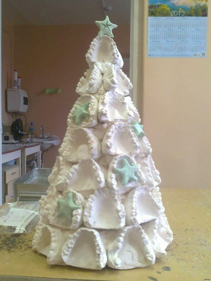 34 vezes funcionários criativos construíram árvores de Natal com temas de trabalho 35