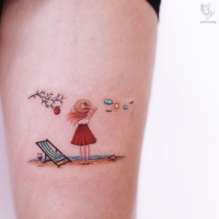 30 melhores desenhos de tatuagem de Ayhan Karadag 4