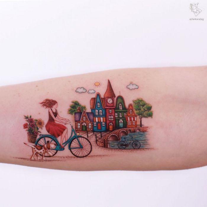 30 melhores desenhos de tatuagem de Ayhan Karadag 7