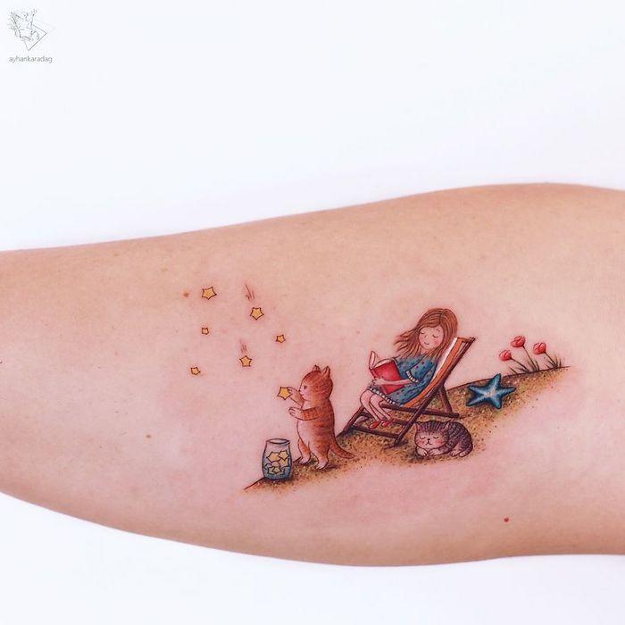 30 melhores desenhos de tatuagem de Ayhan Karadag 8