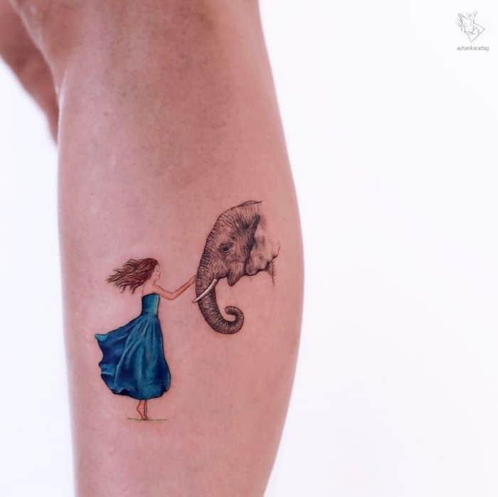 30 melhores desenhos de tatuagem de Ayhan Karadag 9