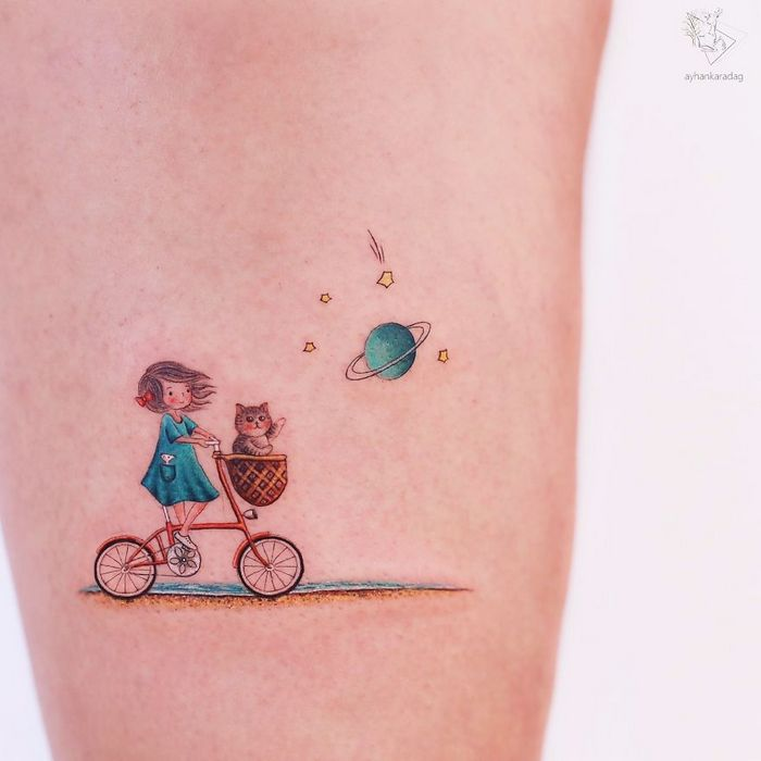 30 melhores desenhos de tatuagem de Ayhan Karadag 10