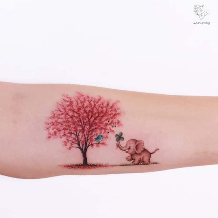 30 melhores desenhos de tatuagem de Ayhan Karadag 12