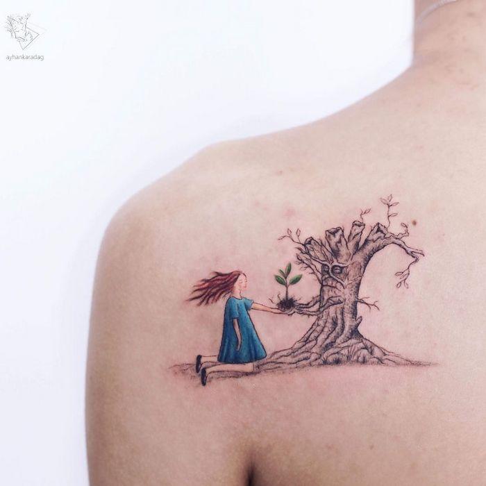 30 melhores desenhos de tatuagem de Ayhan Karadag 29