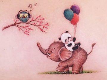 30 melhores desenhos de tatuagem de Ayhan Karadag 39