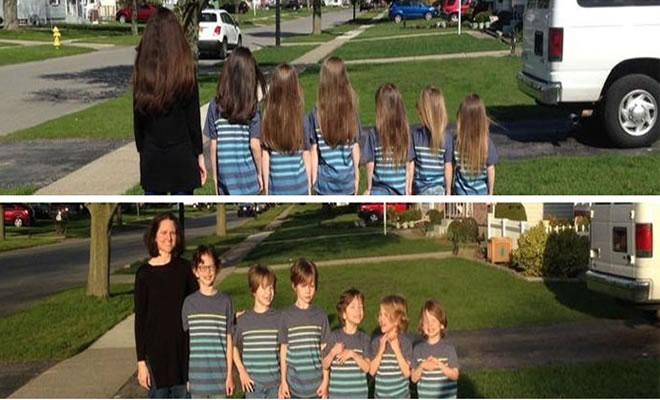 25 motivos para para doar seu cabelo. Antes e depois de pessoas que doaram seus cabelos para pessoas doentes 7