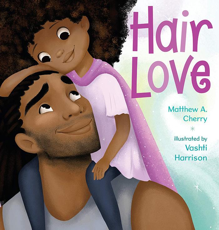 Animação mostra um pai afro-americano aprendendo a pentear o cabelo da filha pela primeira vez