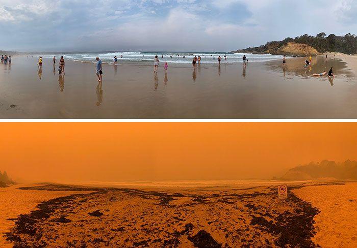 21 Antes e depois, fotos da Austrália mostram quanto dano os incêndios já causaram 3