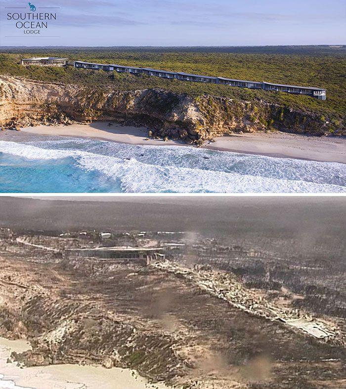 21 Antes e depois, fotos da Austrália mostram quanto dano os incêndios já causaram 4