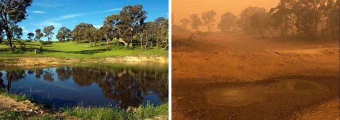 21 Antes e depois, fotos da Austrália mostram quanto dano os incêndios já causaram 7