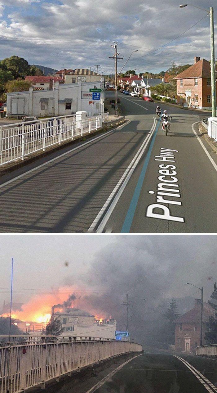 21 Antes e depois, fotos da Austrália mostram quanto dano os incêndios já causaram 13