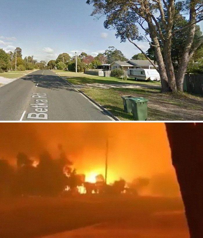 21 Antes e depois, fotos da Austrália mostram quanto dano os incêndios já causaram 15