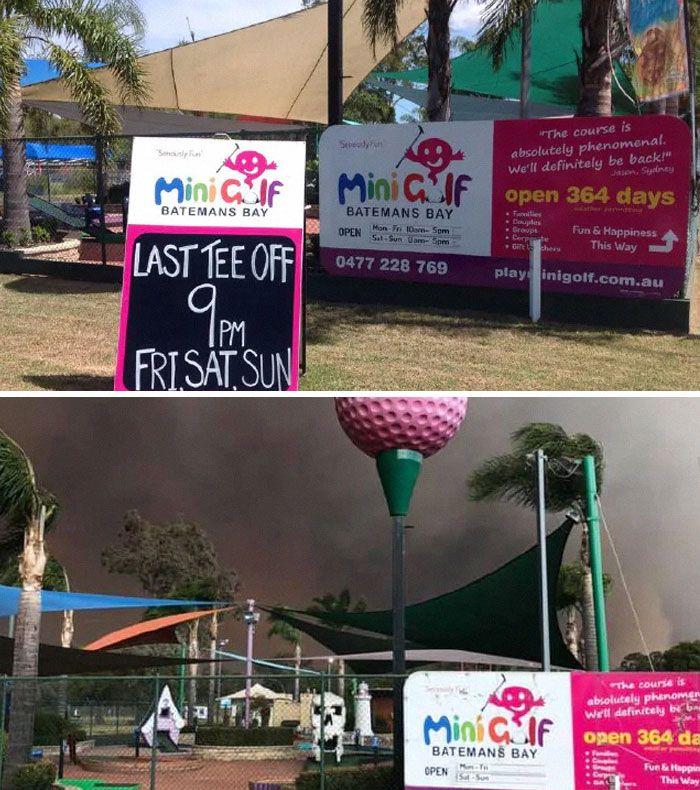 21 Antes e depois, fotos da Austrália mostram quanto dano os incêndios já causaram 20
