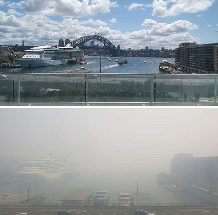 21 Antes e depois, fotos da Austrália mostram quanto dano os incêndios já causaram 22