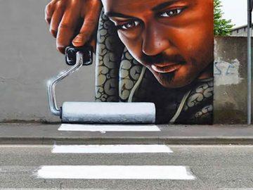 30 fotos de arte de rua em 3D que interagem com seus arredores 32