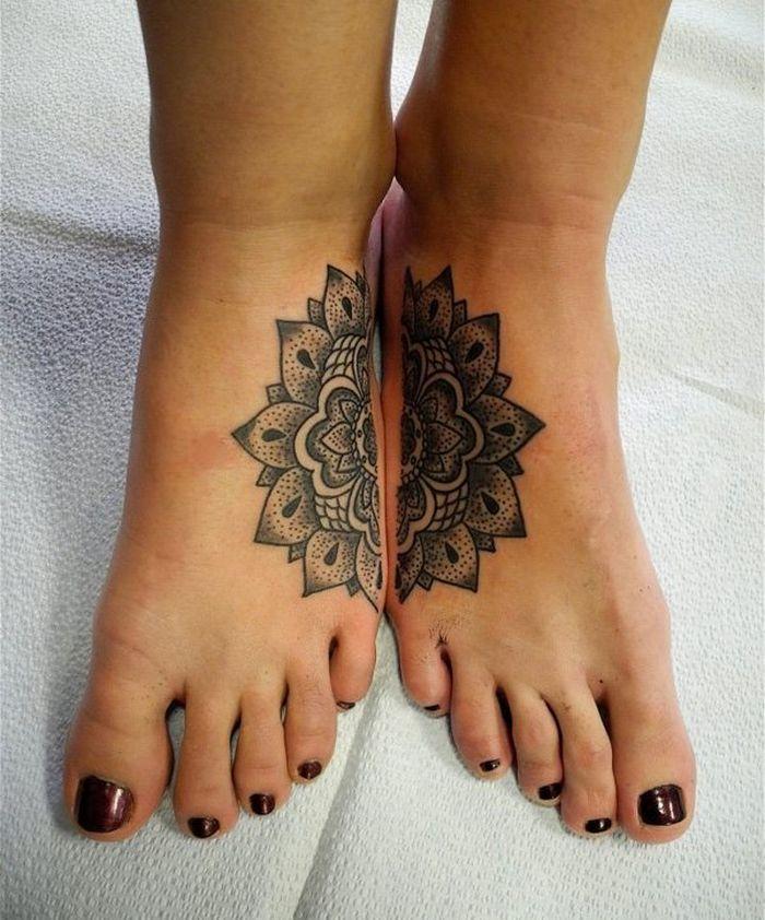 39 ideias lindas para tatuagens para irmãs e melhores amigas 41