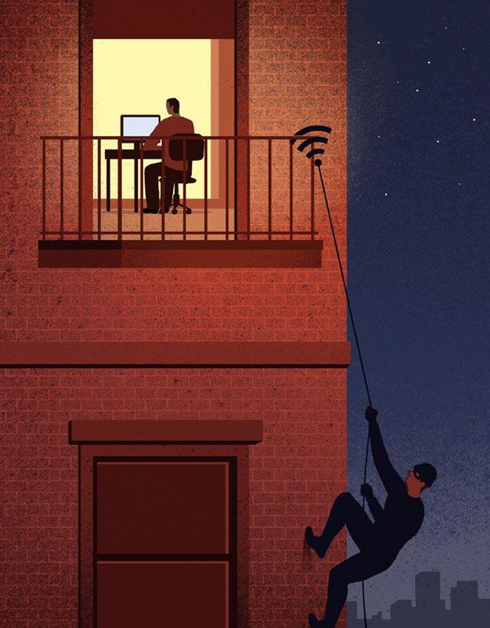 30 ilustrações digitais instigantes que expõem as falhas de nossa sociedade moderna 8