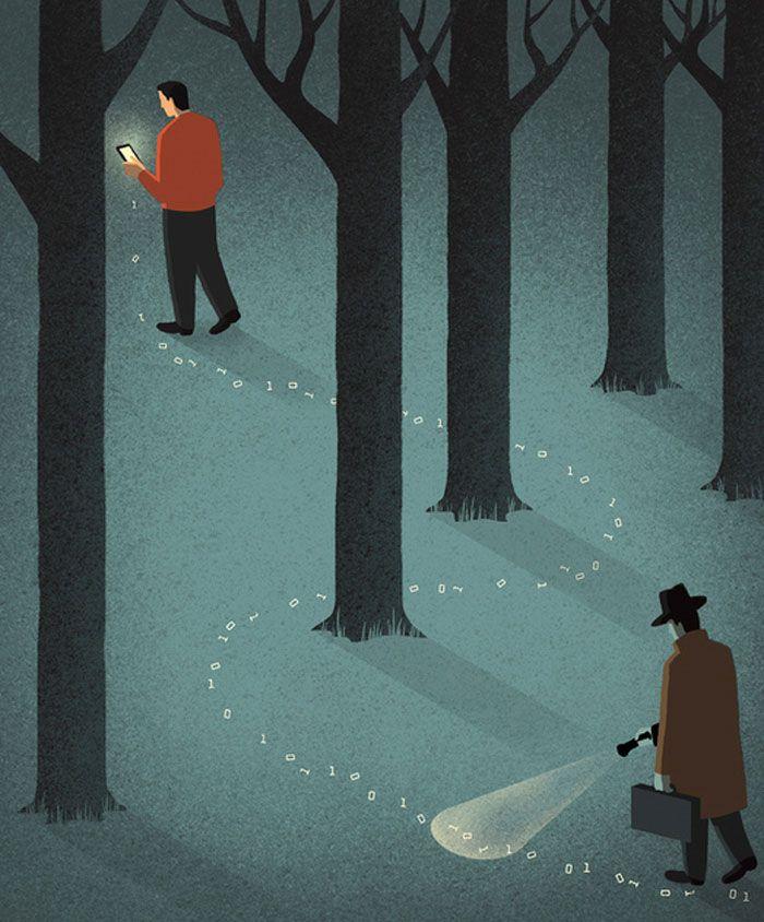 30 ilustrações digitais instigantes que expõem as falhas de nossa sociedade moderna 9