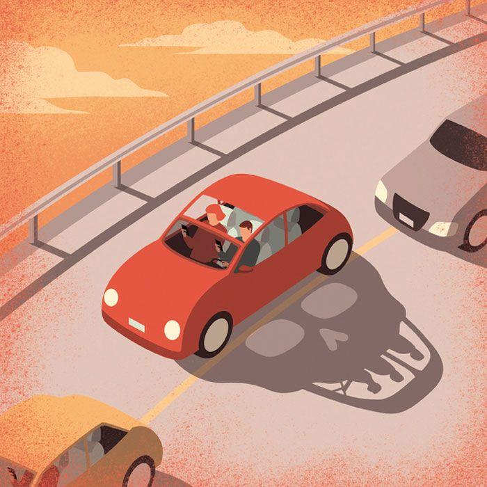 30 ilustrações digitais instigantes que expõem as falhas de nossa sociedade moderna 11